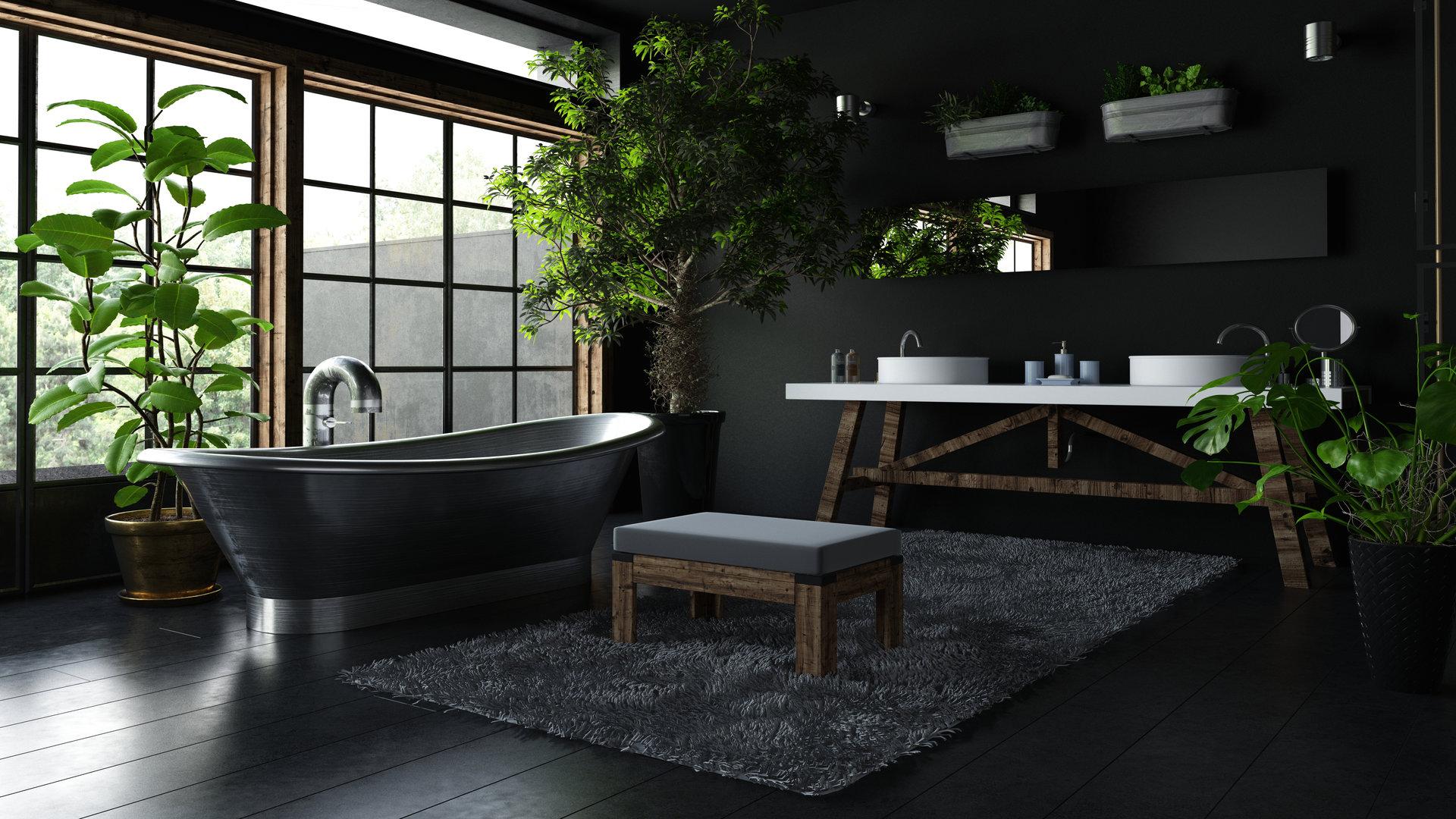 materieux salle de bain