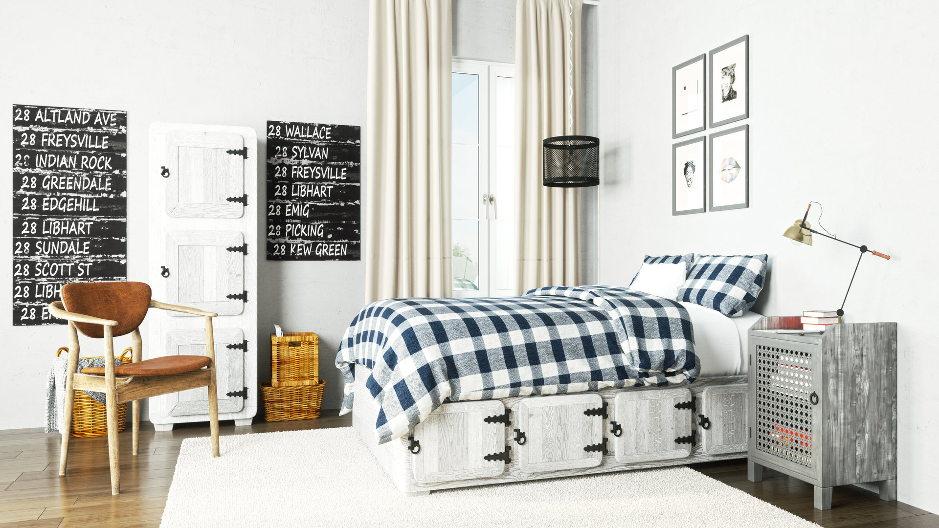 chambre industrialise